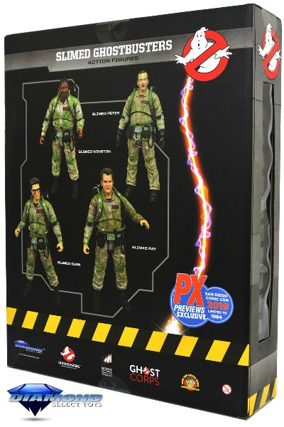 Diamond Select Toys Ghostbusters SDCC 2019 Exclusive Box Set